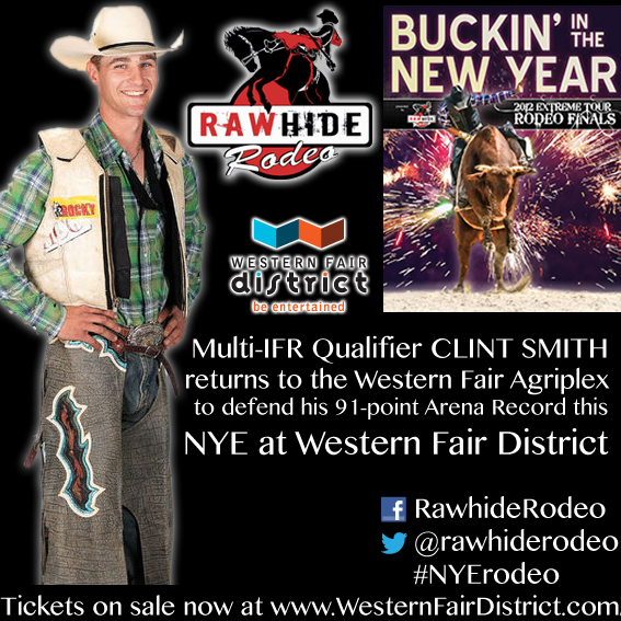 Buckin In The New Year At Western Fair District London