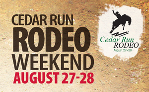 Cedar Run Rodeo Weekend