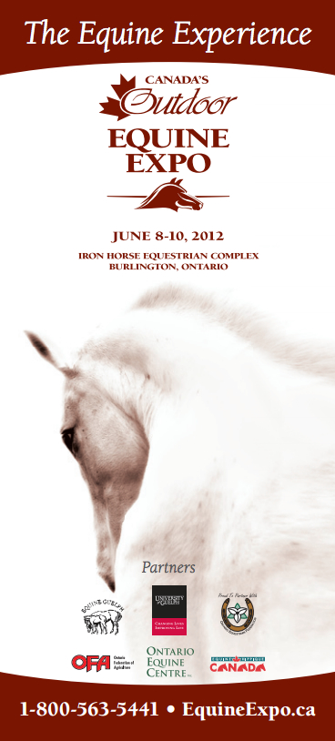 2012 Canada's Outdoor Equine Expo Flyer Image