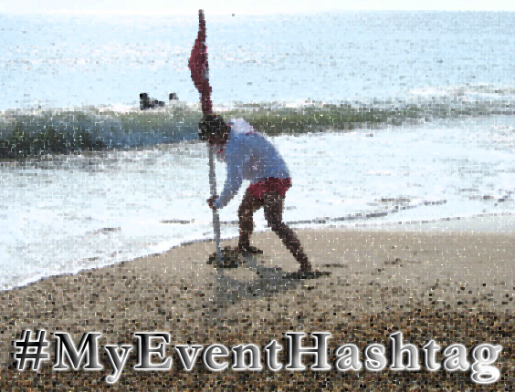 Blogging about using an official twitter hashtag for events