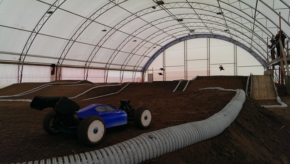RC Acres Club 1/8 and 1/10 Scale Indoor Track 2013