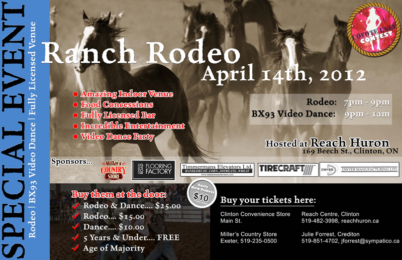 April Ranch Rodeo Flyer