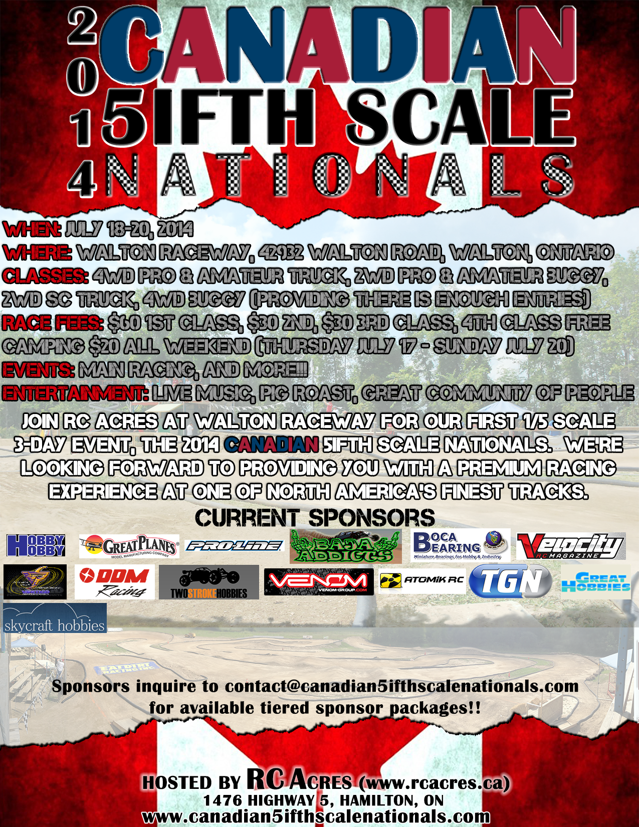 Canadian 5ifth Scale Nationals