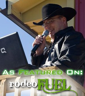 Joe Scully, ProRodeo MC as featured on Rodeo Fuel's Pod Cast