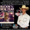 Sylvain Champagne Western Fair NYE Rodeo