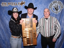Joe Scully wins award for 4th Time