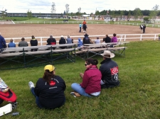 Ontario High School Rodeo and Ontario Rodeo Association Rodeo feigning interest in Western Dressage