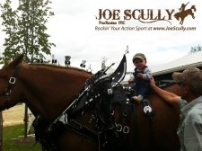 At Canada's Outdoor Equine Expo...we came to ride
