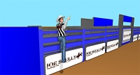 Rodeo Judge Signals