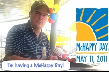 Scully having a McHappy Day