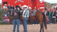 Rider Interview at Ontario Xtreme Cowboy Extreme Cowboy Race in Norwood, Ontario